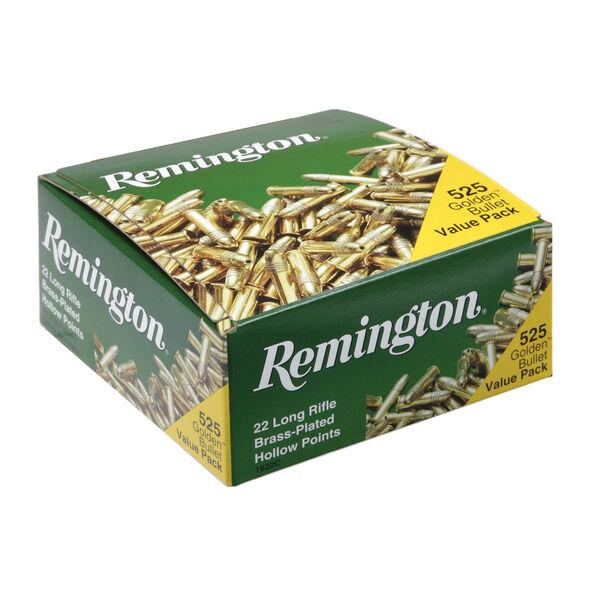 Remington 22 Golden Bullet HP Ammunition Value Pack