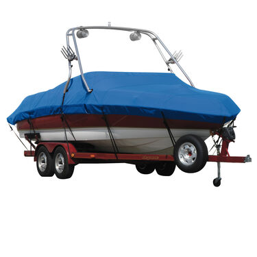 Exact Fit Covermate Sharkskin Boat Cover For SEA RAY 200 SPORT W/ XTREME TOWER