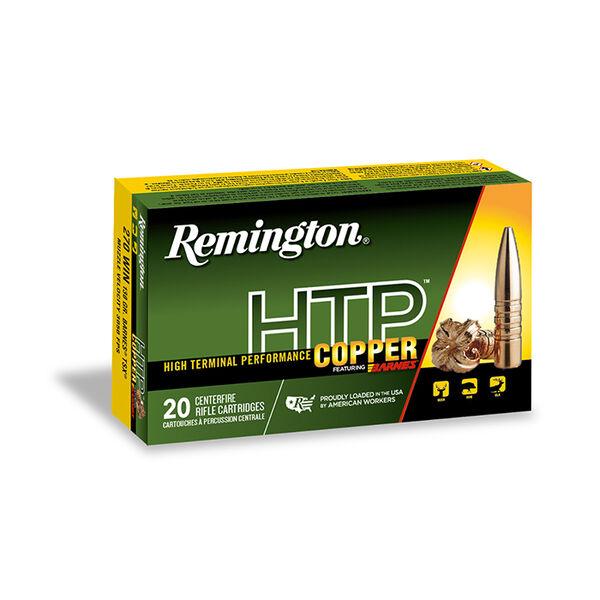 Remington HTP Copper Ammunition, 7mm Rem Ultra Mag, 150-Grain