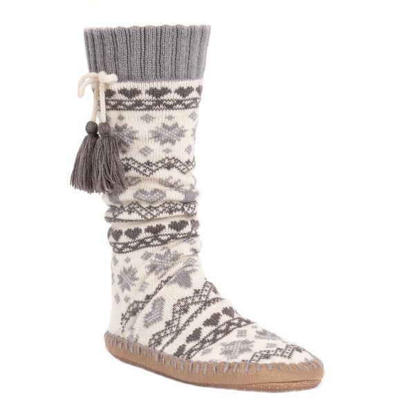Muk Luks Women's Slipper Socks with Tassles
