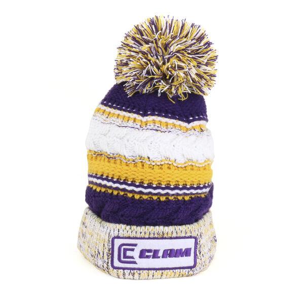 Clam Knit Pom Hat