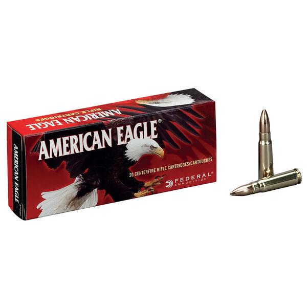 American Eagle Rifle Ammunition, .30-06 Spring, 150-gr., FMJBT, 20Rds