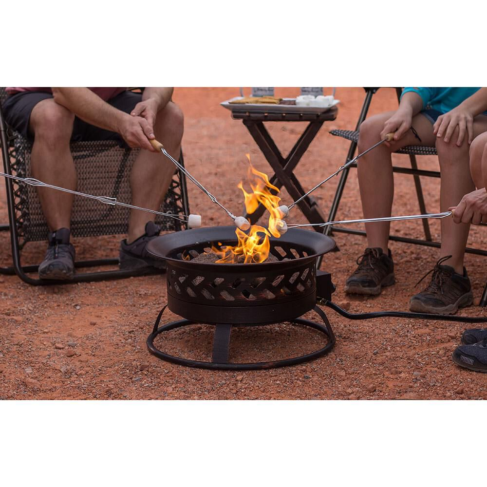Portable Steel Propane Outdoor Fire Pit Gander Outdoors