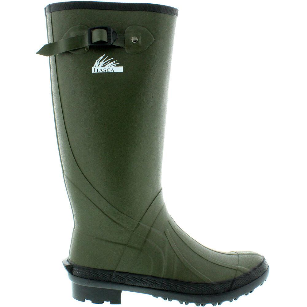 80083d0af20 Itasca Men's Swampwalker Classic Waterproof Rubber Boot