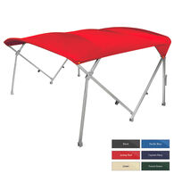 "Shademate Extra Long Big Top Pontoon Bimini Top, Sunbrella Acrylic, 1.25"" Frame"
