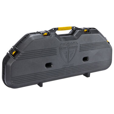 Plano All-Weather Series Bow Case, Black with Yellow Latches & Handle