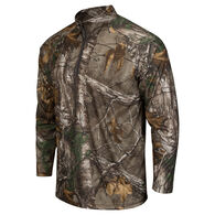 Realtree Men's Quarter-Zip Pullover