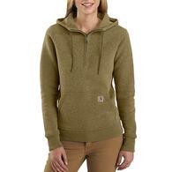 Carhartt Women's Clarksburg Half Zip Sweat Shirt