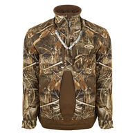 Drake Waterfowl Men's Guardian Flex Fleece-Lined Quarter-Zip Jacket