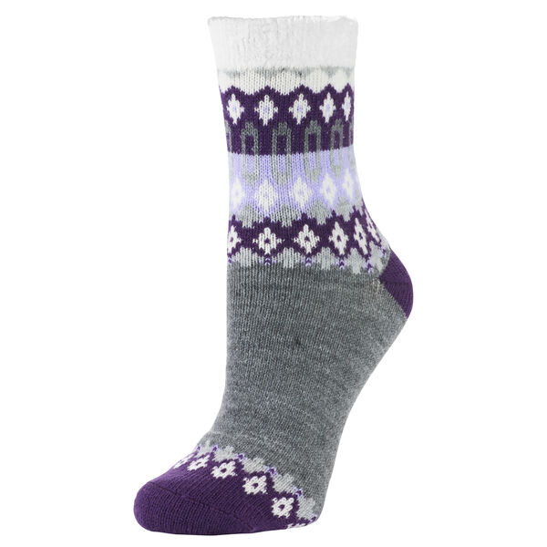Sof Sole Women's Fireside Nordic Cuff Crew Sock