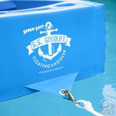 S.S. Goodlife Floating Kooler, Bahama Blue