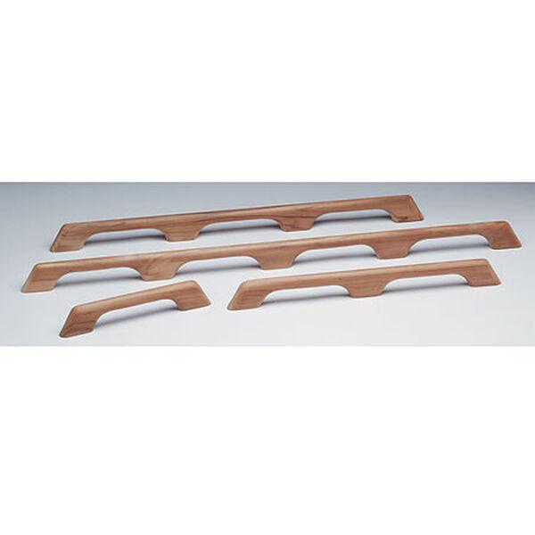 "Whitecap Teak Teak Seven-Loop Handrail, 73""L x 2-3/8""H x 1""D"