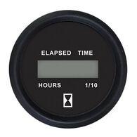 """Faria 2"""" Euro Digital Hourmeter, Black"""
