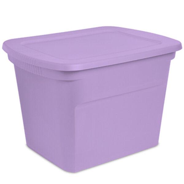 Sterilite 18-Gallon Storage Tote, Lilac