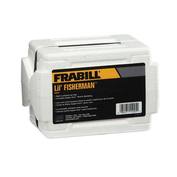 Frabill Lil' Fisherman Flip-Top Worm Tote