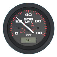 "Sierra Amega 3"" GPS Speedometer With LCD Heading Display, 80 MPH"
