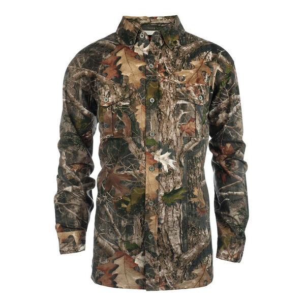 TrueTimber Men's Twill Button-Down Shirt