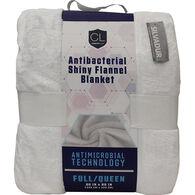 Comfort Lab Antibacterial Flannel Blanket