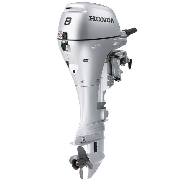 "Honda BFP8 Power Thrust Portable Outboard Motor, Electric Start, 8 HP, 25"" Shaft"