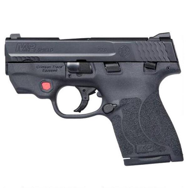 Smith & Wesson M&P Shield M2.0 9mm Handgun With Crimson Trace Red Laser