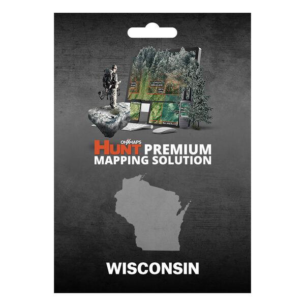 onXmaps HUNT GPS Chip for Garmin Units + 1-Year Premium Membership, Wisconsin