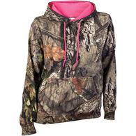Gildan Women's Camo Pullover Hoodie - Mossy Oak Break-Up Country