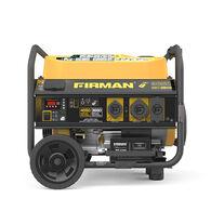 FIRMAN 4550/3650 Watt Remote Start Gas Portable Generator With Wheel Kit