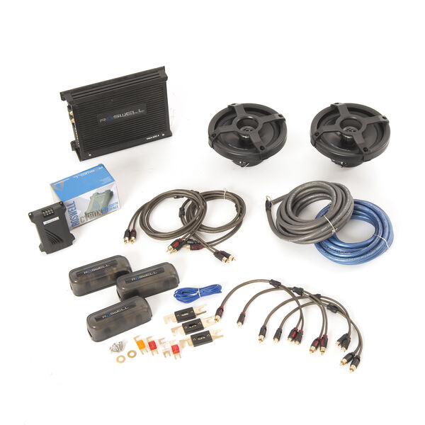 Roswell Silver In-Boat Audio Package
