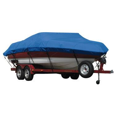 Exact Fit Covermate Sunbrella Boat Cover for Tahoe 204 204 Deck Boat W/Bimini Laid Aft I/O