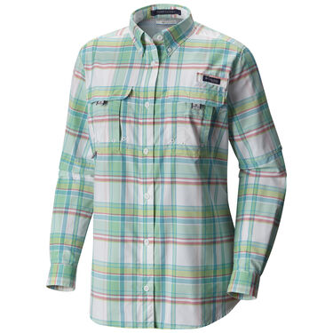 Columbia Women's PFG Super Bahama Long-Sleeve Shirt