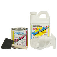 Toon-Brite Aluminum Boat Protective Clear Coat Kit