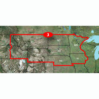 Garmin Topography, North Central US