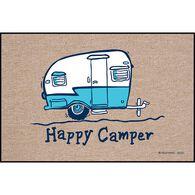 """High Cotton Door Mats, 18"""" x 27"""", Happy Camper"""