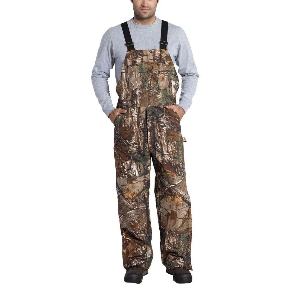 10de57aada8 Carhartt Men's Quilted Lined Bib Overalls | Gander Outdoors