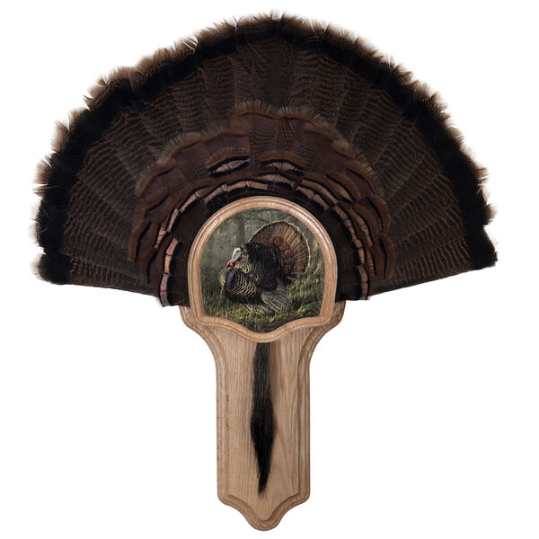 Walnut Hollow Deluxe Turkey Display Kit with King of Spring Image