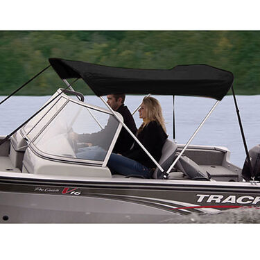 Shademate Sunbrella Stainless 2-Bow Bimini Top 5'6''L x 42''H 54''-60'' Wide