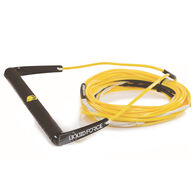 Liquid Force Plush Rope And Handle Combo, Black/Yellow