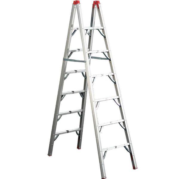 GP Logistics Double-Sided 7' Folding Ladder