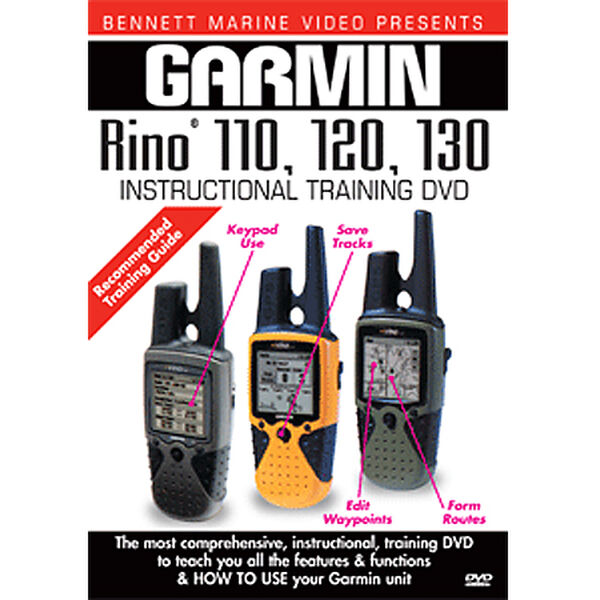 Bennett DVD - Garmin Rino 110, 120, 130 Instructional Training DVD