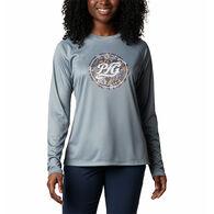 Columbia Women's PFG Tidal Printed Medallion Long-Sleeve T-Shirt