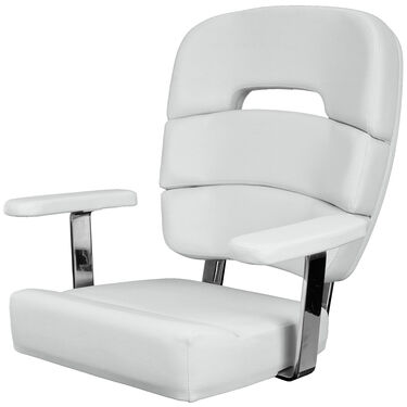 """Taco Standard 19"""" Coastal Helm Chair With Armrests"""