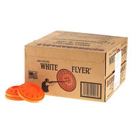 White Flyer Orange Dome Clay Targets, 135 ct.
