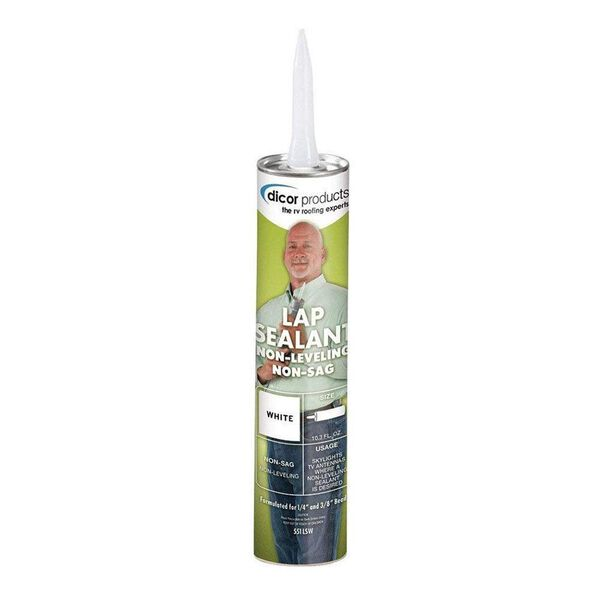 Dicor Non-Sag Lap Sealant - Bright White