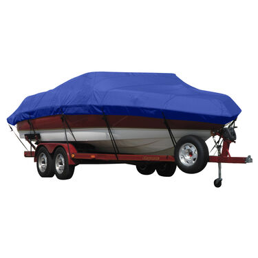 Exact Fit Covermate Sunbrella Boat Cover for Javelin 350A  350A W/Port Troll Mtr O/B