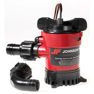 Johnson Cartridge Bilge Pump, 500 GPH