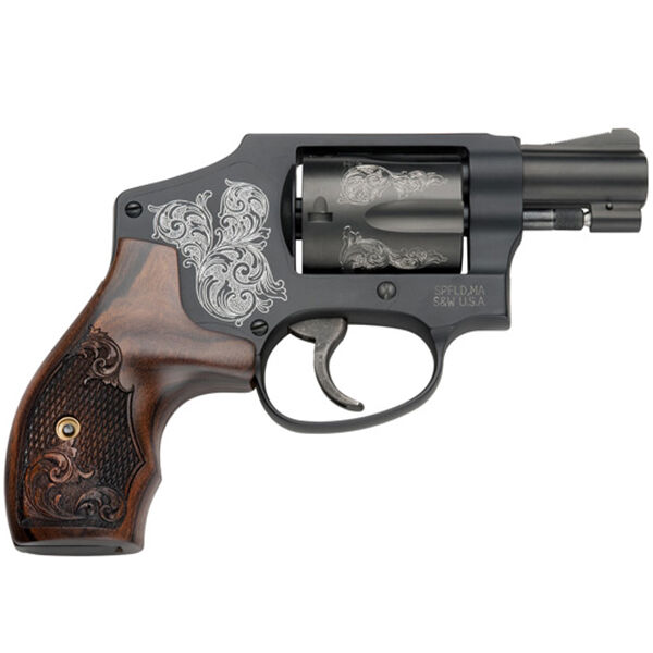 Smith & Wesson Model 442 Engraved Handgun