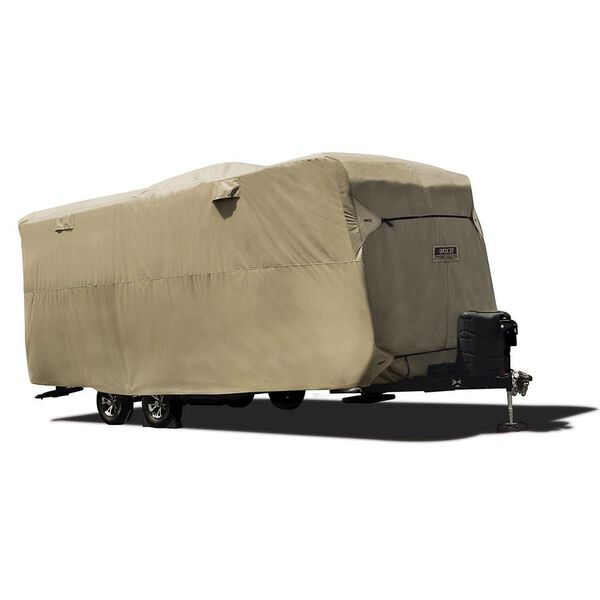 Travel Trailer Storage Lot Cover