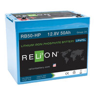 RELiON RB50-HP 12V 50Ah Lithium Marine Deep-Cycle Battery