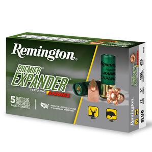 "Remington Premier Expander Copper Solid Sabot Slugs, 12-ga., 3"", 437-gr."