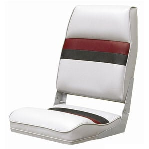 Toonmate Deluxe Pontoon High-Back Folding Boat Seat